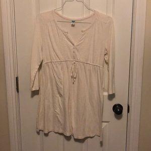 Old Navy maternity tunic